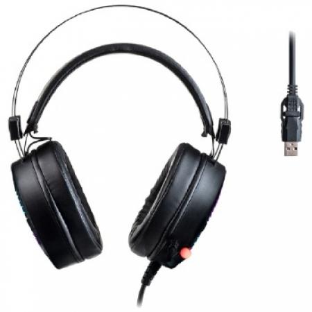 Headset Gamer Warrior Flamma Stereo USB2.0 LED RGB - PH306
