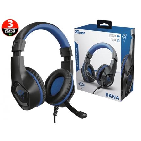 Headset Headset 23309 GXT-404B Rana com Driver 40MM