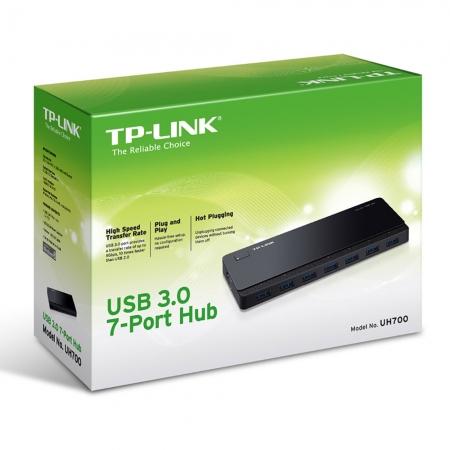 Hub USB 7 Portas TP-LINK UH700 USB 3.0 5GBPS