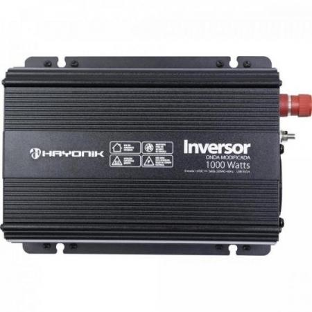 Inversor de ONDA Modificada 1000W 12VDCOM220V PW11-9 Hayonik (7899638106160)