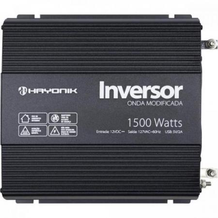 Inversor de ONDA Modificada 1500W 12VDCOM127V PW11-3 Hayonik
