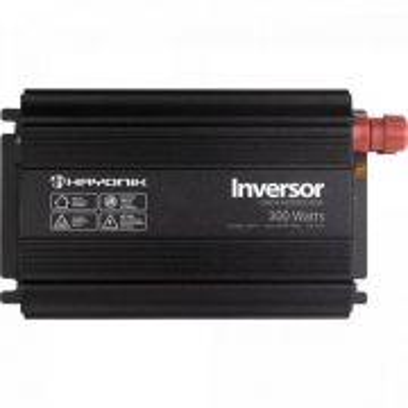 Inversor de ONDA Modificada 300W 12VDCOM220V USB Cinza Escuro Hayonik