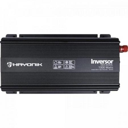 Inversor de ONDA Senoidal 1000W 12VDCOM127V PW21-1 Hayonik