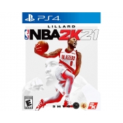 Jogo Take TWO NBA 2K21 PS4 BLU-RAY (TT000208PS4)