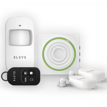 Kit de Alarme Wifi com Sensores sem Fio ESA-KW1080