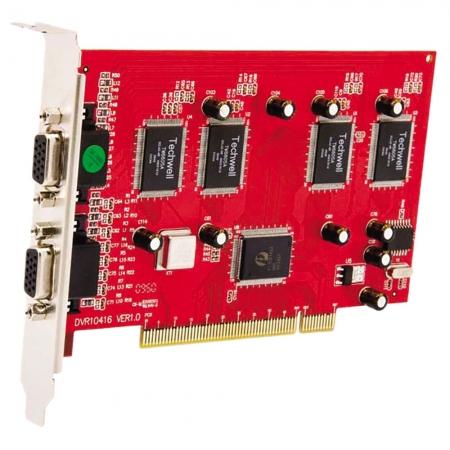 Kit Placa DVR Seykon PCI SK-8416 16 Canais