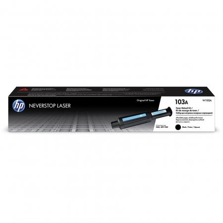 Kit Recarga HP Neverstop Preto 103AB - W1103AB