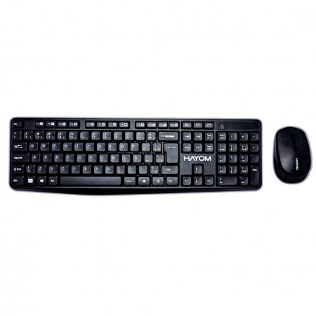 Kit Teclado e Mouse Hayom Office sem Fio - TC3211