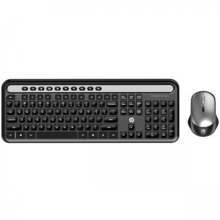 Kit Teclado e Mouse sem Fio CS500 Preto