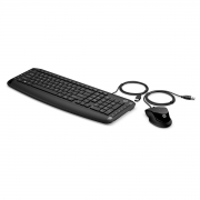 Kit Teclado e Mouse USB Pavilon Multimidia 200 Preto