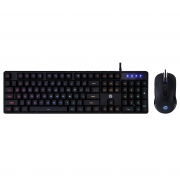 Kit Teclado+mouse Gamer HP-AC KM200 USB 7JH33AA#AC4