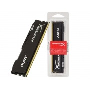 Memoria Desktop Gamer DDR4 HYPERX HX424C15FB3/8 FURY 8GB 2400MHZ NON-ECC CL15 DIMM BLACK