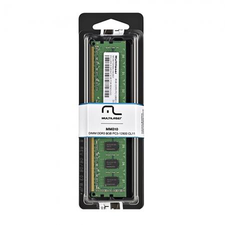 Memoria DIMM DDR3 8GB PC3-12800 Desktop