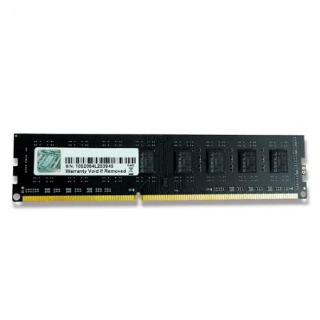 Memoria G.SKILL Value 8GB (1X8GB) 240P DDR3 1600 (PC3 12800) F3-1600C11S-8GNT