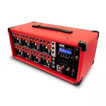Mesa de Som Amplificada 8 Canais NVK 8500 BT