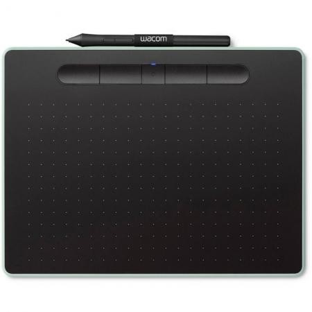 Mesa Digitalizadora Wacom Intuos Pequena com Bluetooth NA COR Verde - CTL4100WLE0
