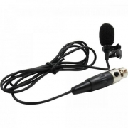 Microfone de Lapela para Sistema sem Fio ML100SF Preto Leson