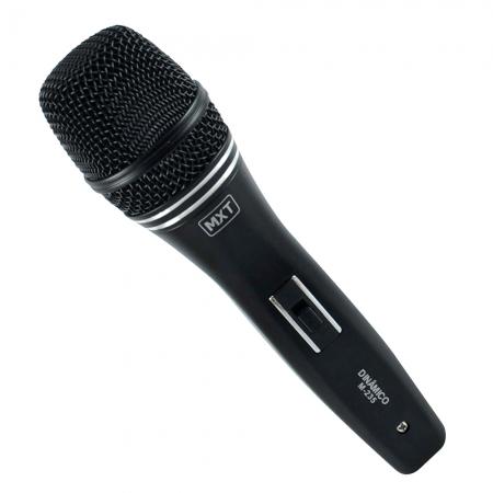 Microfone Dinamico com Fio M-235 Profissional - Cabo 3 Metros - O.D.5.0 MM