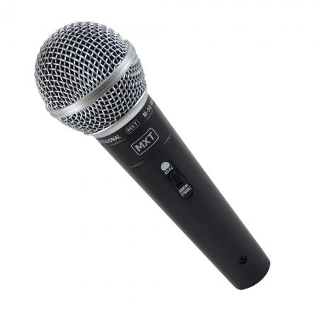 Microfone Dinamico com Fio M-58 Profissional - Cabo 3 Metros O.D.5.0 MM