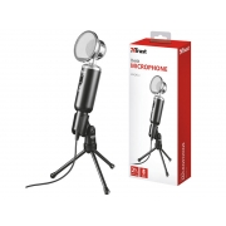 Microfone para PC e Notebook Microfone 21672 Madell Tripe com Protecao Contra Vento Conector P2