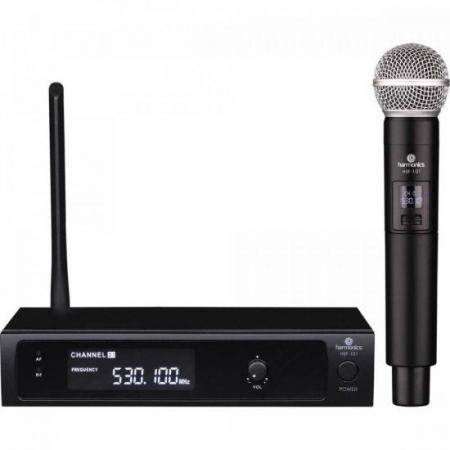 Microfone sem Fio de Mao UHF HSF-101 Harmonics