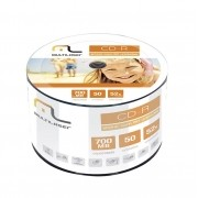 Midia CD-R Multilaser CD051 700 MB 52X Shirink com 50 Unidades