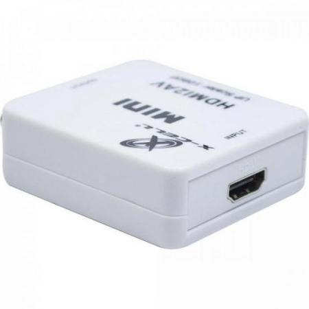 Mini Conversor HDMI X AV XC-MC-01 FLEX