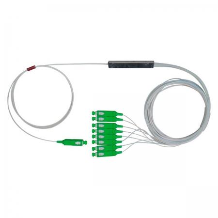 Mini Splitter Optico PLC-SC APC 1X8 NKLT-NMPL108110110441 (EMB C/ 2 UNID)