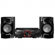 Mini SYSTEM Panasonic 450W USB MP3 Bluetooth - SC-AKX320LBK