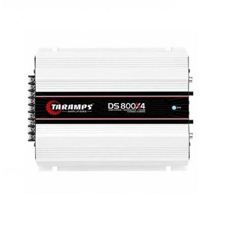 Modulo de Potencia Taramps DS-800X4 800RMS 4 Canais 1R 12,6VDC (7898556844826)