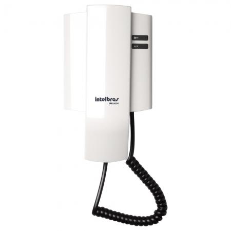 Modulo para Porteiro Residencial Intelbras IPR 8000N Modulo Interno