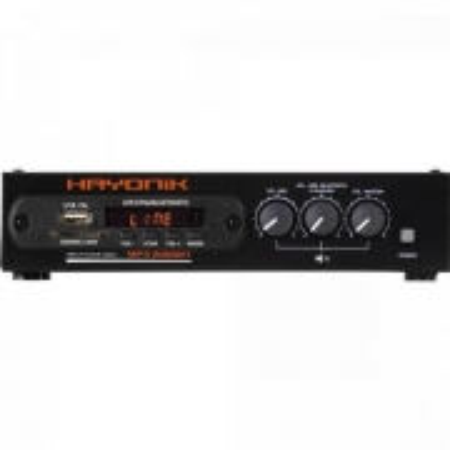Modulo PRE Amplificador com Gongo FM/USB/MP3/BLUETOOTH MP3 2000BT Hayonik
