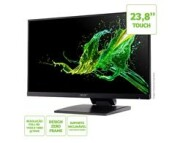 Monitor ACER 23,8  LED/IPS Touchscreen 10 Toques FHD VGA HDMI USB Multimidia - UT241Y