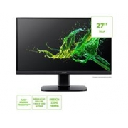 Monitor ACER 27  LED Gamer 1MS 75HZ Zero Frame FHD HDMI VGA Vesa Freesync - KA272