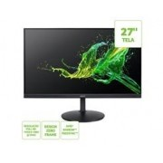 Monitor ACER 27  LED/IPS Zero Frame FHD 1MS Multimidia HDMI VGA Display PORT Altura e Rotacao AMD FR