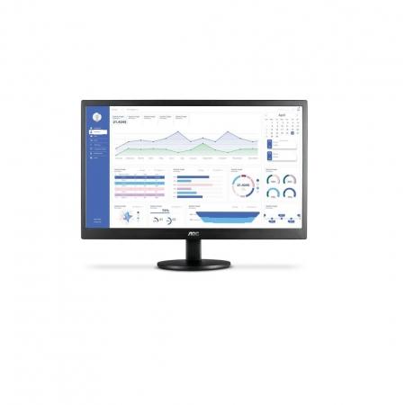 Monitor AOC 23,6´´ LED com Painel WVA, VGA e HDMI - M2470SWH2