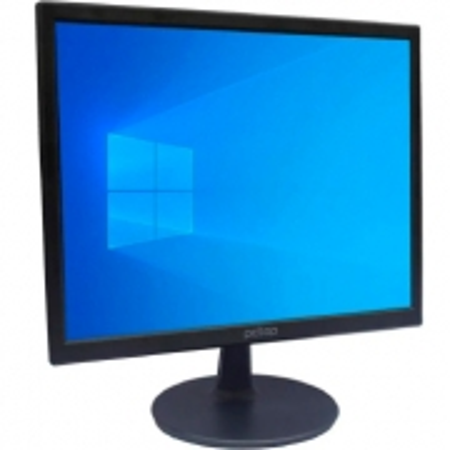 Monitor PCTOP MLP170 17P 60HZ HDMI VGA - MLP170HDMI  Preto  Bivolt