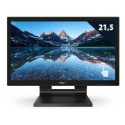 Monitor Touch Multimidia Philips 222B9T 21,50 1920 X 1080 FULL HD LED  Wide VGA HDMI