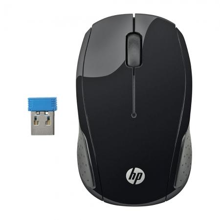 Mouse HP sem Fio USB X200 OMAN 3 Botoes Preto