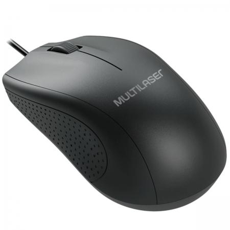 Mouse Large BOX USB Preto MO308