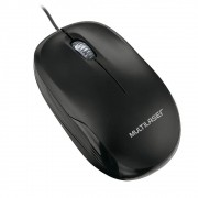 Mouse Multilaser BOX Optico Comfio Preto USB MO255
