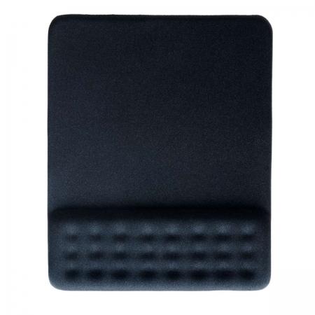 Mouse PAD DOT com Apoio de Pulso em GEL Preto AC365