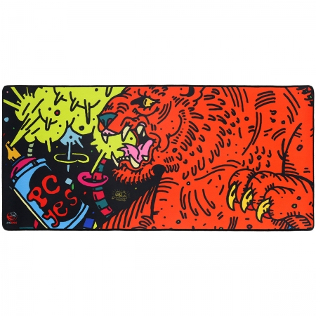 Mouse PAD Tiger EXTENDED - Estilo Speed - 900X420MM - PMT90X42