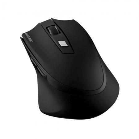 Mouse sem Fio 2.4GHZ Recarregavel Lithium PRO USB MO291 Preto