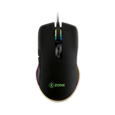 Mouse Xzone Gamer Xzone GMF-02, RGB, 7 Botoes 16400DPI