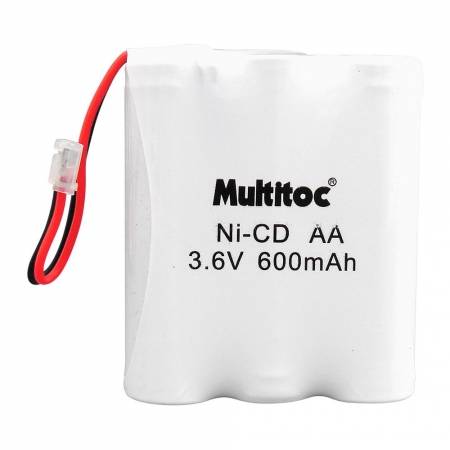 Multitoc Bateria P/ Telefone sem Fio 3,6X600MAH 3AA