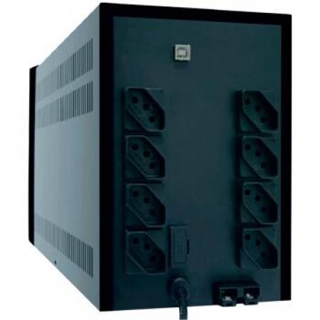 Nobreak TS Shara UPS Senoidal UNIV 1500 115/220V - 4438  Preto  Bivolt
