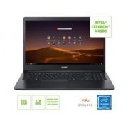 Notebook ACER A315-34-C6ZS Celeron N4000 4GB 1TB 15,6  Linux - NX.HRNAL.002