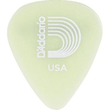 Palheta para Guitarra de Celuloide 1CCG2-10 - Glowe - Leve - (PCT com 10 Unidades)