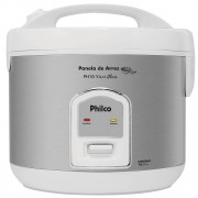 Panela de ARROZ Philco PH10 com Visor GLASS Branca 220V
